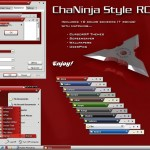 ChaNinja theme for windows 7