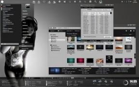 Dark pearl desktop theme for window 7