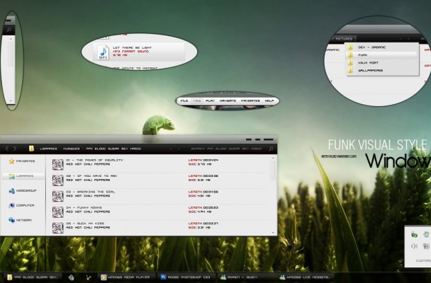 Funk theme for windows 7