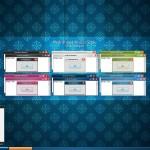Hydrangea visual style for windows 7