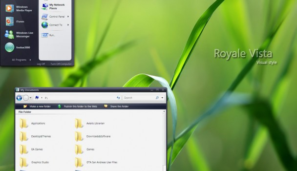 Royale Vista VS Theme for Windows XP