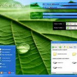 Watercolour Emico theme for windows xp
