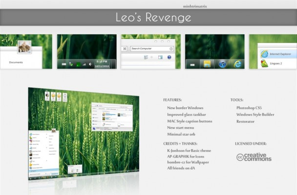 Leo's Revenge visual style for windows 7