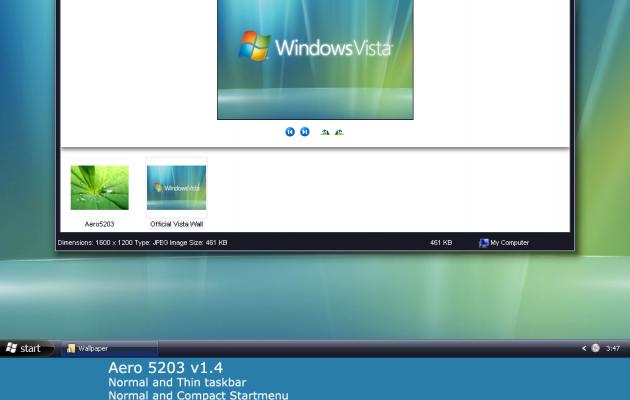 Aero for windows xp