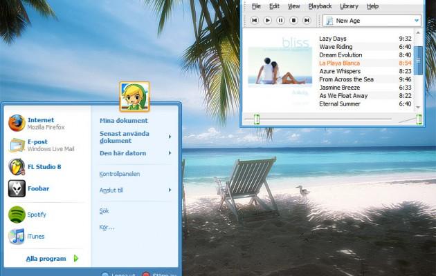 Ambient windows xp theme