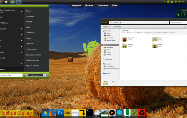 Android Visual Style V3 for Windows 7