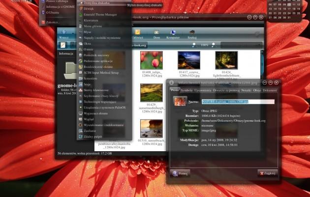 BlueSpace II Ubuntu Gnome Theme