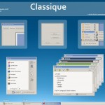 Classique windows xp theme