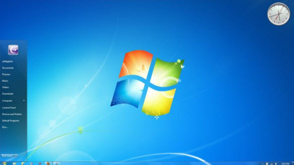 Compact Aero Visual Style for Windows 7 @ 50+ Stunning Windows 7 Desktop Themes