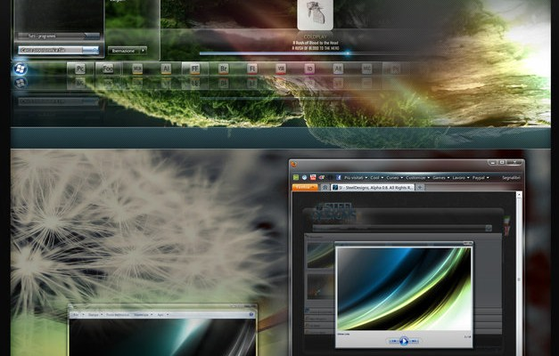 Cur7ed Beta Visual Style for Windows 7