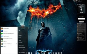 Dark Knight Visual Style Windows7