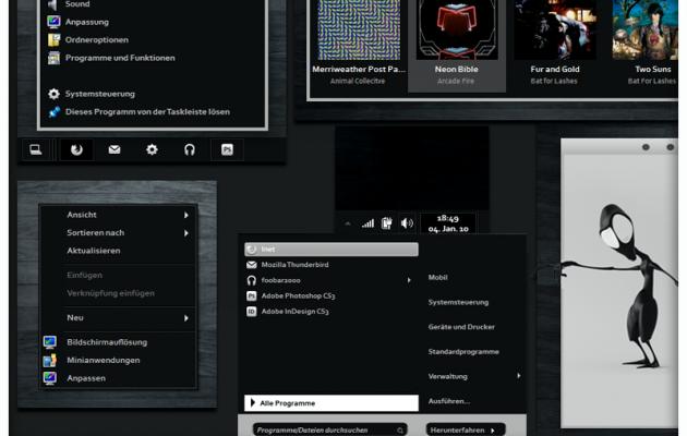 Demoniac 7 Visual Style for Windows 7