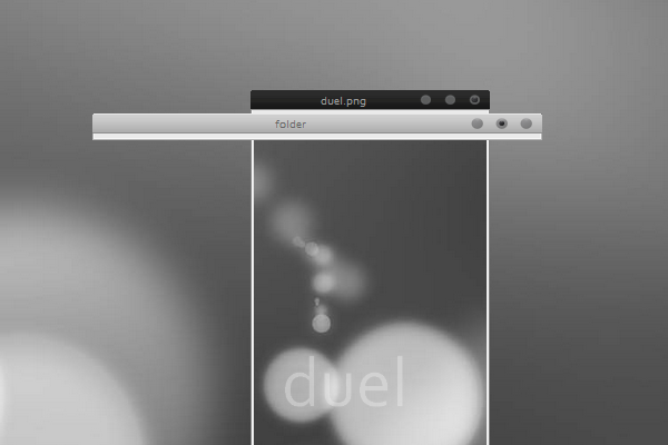 Duel Desktop Theme for Windows XP