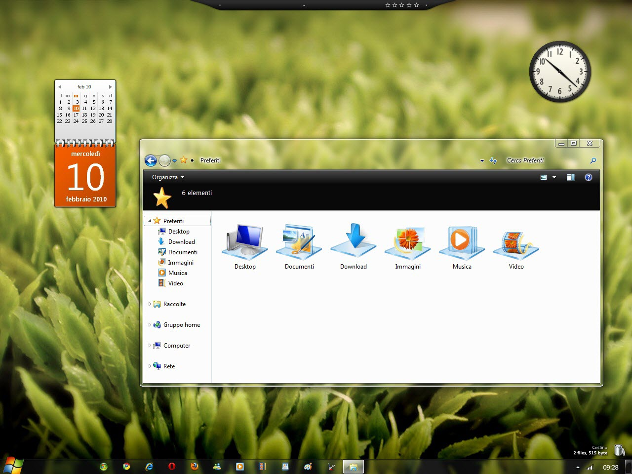 Elegant Glass Windows 7 Desktop Theme @ 50+ Stunning Windows 7 Desktop Themes