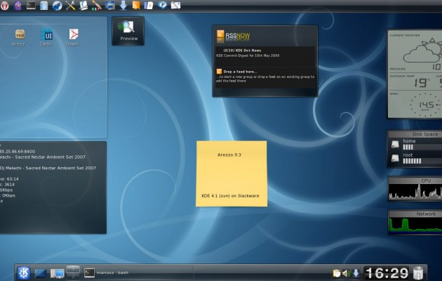 Arezzom Gnome Ubuntu Desktop Theme