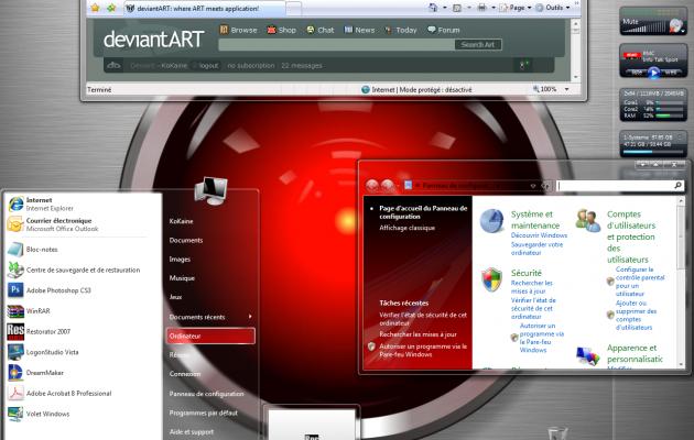 HAL 9000 Visual Style Windows Vista