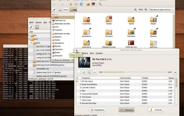 Humanity Gnome Ubuntu Desktop Theme