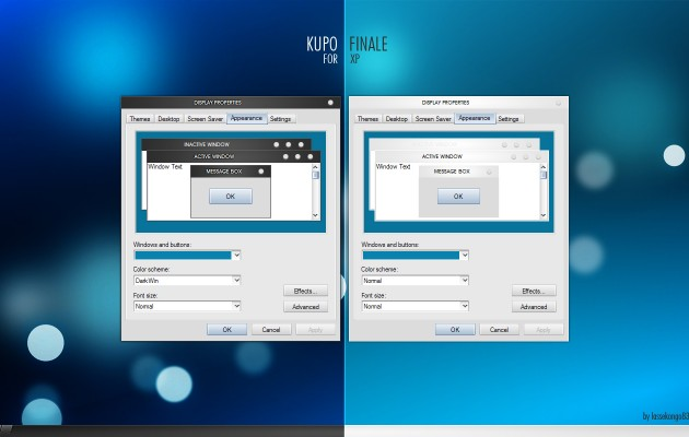 Kupo Finale Theme for Windows XP