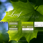 Leaf Visual Style for Windows 7