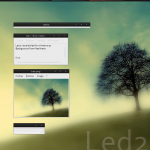 Led2 Windows XP desktop Theme