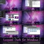 Leopard Dark Visual Style for Windows 7