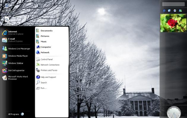 LongHorn Perfection Windows XP VS