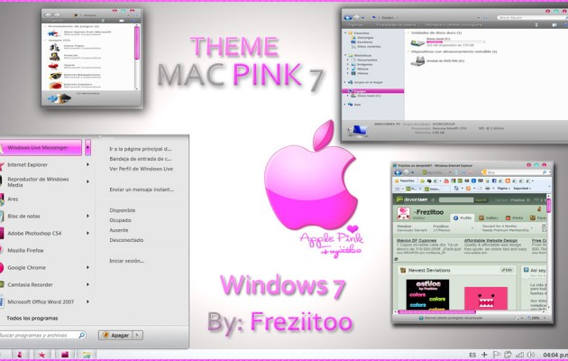 MacPink 7 Visual Style for Windows 7