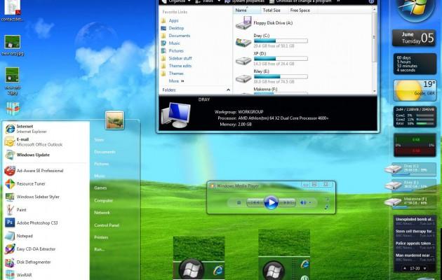 Maxclear V3.1 Vista Theme
