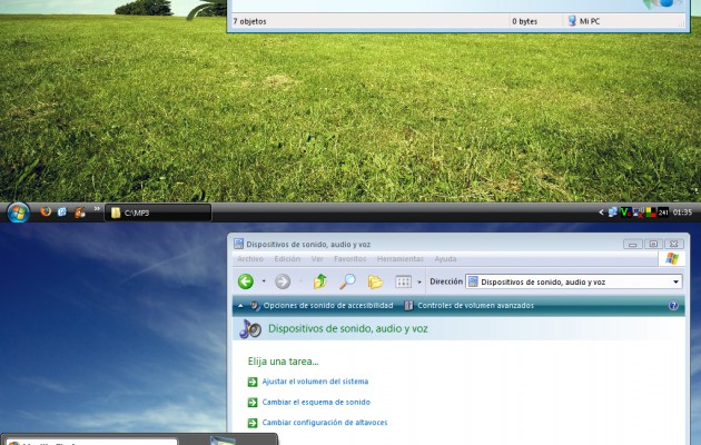MiVista Basic Theme for Windows XP