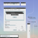 Noyau visual style for windows XP