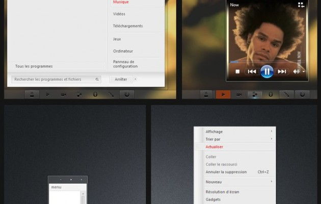Nude Visual Style for Windows 7