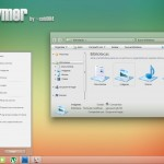 Polymer Desktop Theme for Windows 7