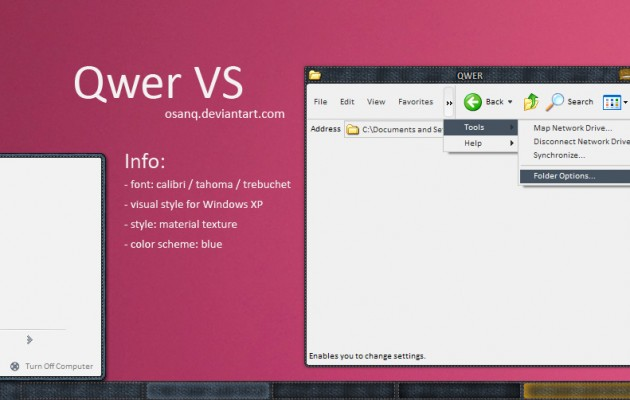 Qwer VS for windows xp
