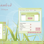 Rosebud windows xp theme