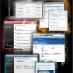 SteelFlash Windows Vista Theme
