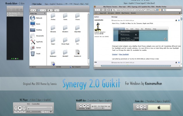 Synergy 2.0 Guikit for Windows XP