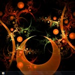 Inspiring Orange Visual style for windows 7