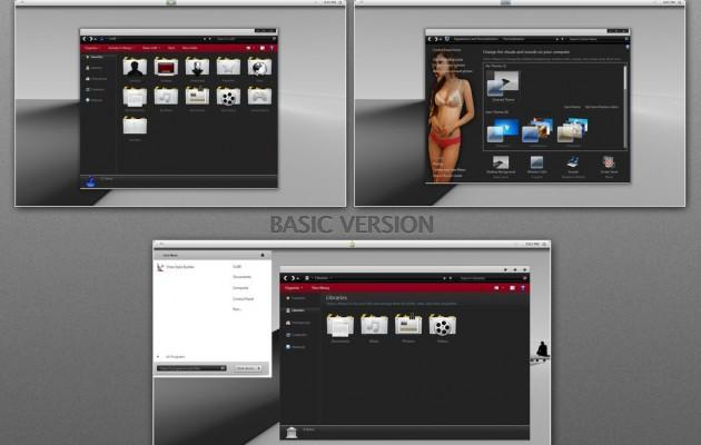 Vela Visual Style for Windows 7
