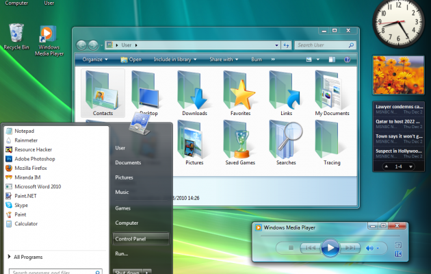Vista Visual Style for Windows 7 (FINAL)