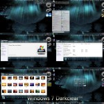 Windows 7 Darkclear visual style