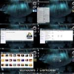 Windows 7 Darkclear visual style