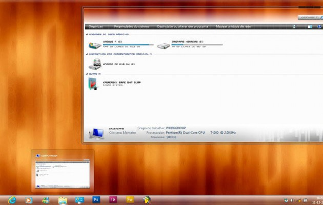 Windows Evolution Ultimate Theme for Windows 7