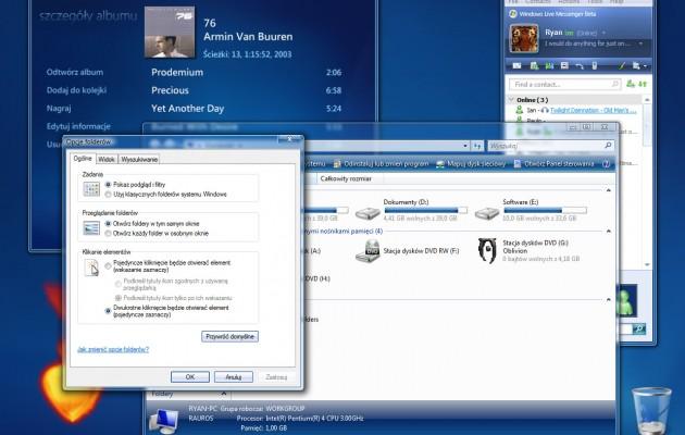 Windows Vista Media Center pro Theme