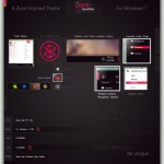 Zune Quick Play Visual Style for Windows 7
