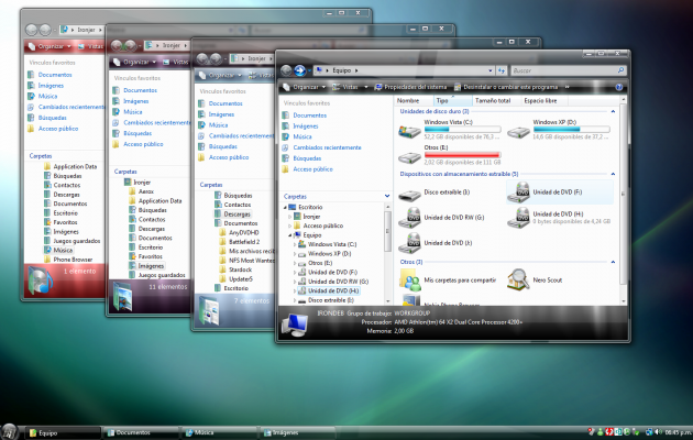 Aerox 1.0 Theme For Windows Vista