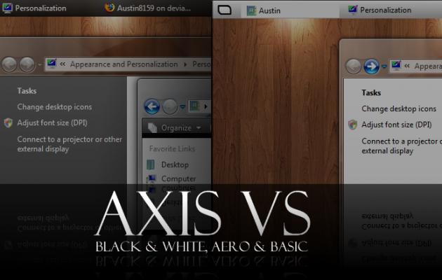 Axis VS Windows Vista Theme