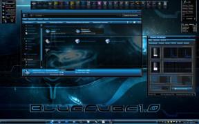 Blue Cube Theme for Windows 7