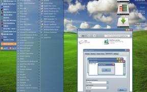 BlueMesa theme for windows xp