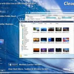 Cleaero theme for windows xp