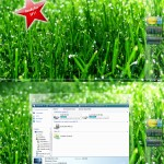 Clear Glow Windows vista theme